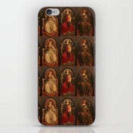 """Sandro Botticelli and Piero del Pollaiolo """"Theological and cardinal virtues"""" iPhone Skin"""