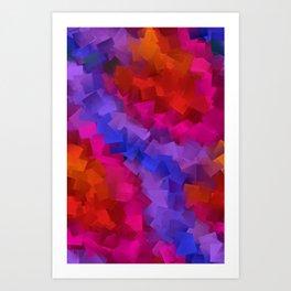 beautiful colors -ee- Art Print