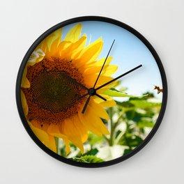 Sunny Hunny Wall Clock