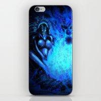 pocahontas iPhone & iPod Skins featuring Pocahontas by Brood Studio: Artwork of Jared Hetner