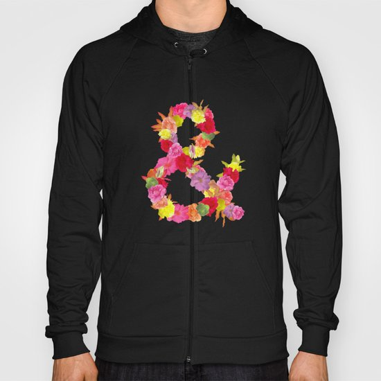 Flower Ampersand Hoody