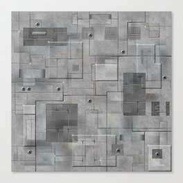 Industrial Tiles Canvas Print
