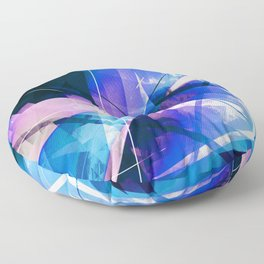 Prizism - Geometric Abstract Art Floor Pillow