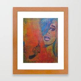 !bang! Framed Art Print