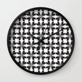 Minimal Motif Pattern 2 Wall Clock