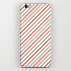 Candy stripes iPhone & iPod Skin