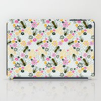 bees iPad Cases featuring Bees by Yellow Button Studio