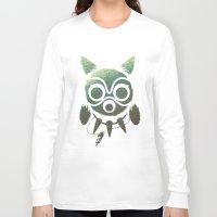 mononoke Long Sleeve T-shirts featuring Mononoke by Kiana