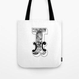 I , Alice's Alphabet Tote Bag