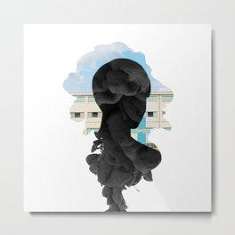 SVT - Mingyu Smoke Effect Metal Print