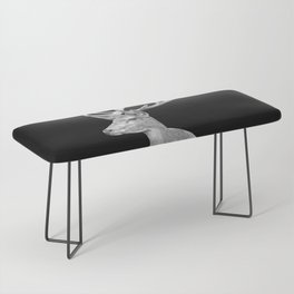 Deer Black Bench