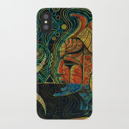 They Who Drink Chaos iPhone Case