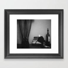 inspired evening Framed Art Print