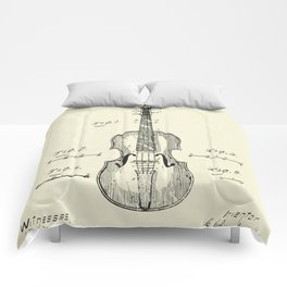 Method of Improving the Tone of Violins-1888 Comforters