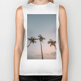 tropical sunset #society6 #decor #buyart Biker Tank