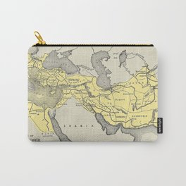 Vintage Map of Alexander The Greats Empire (1913) Carry-All Pouch
