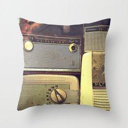 Radio Deluxe Throw Pillow