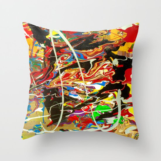Madness Throw Pillow