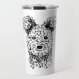 Pumi (Black and White) Travel Mug