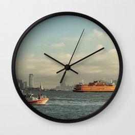 Coast Guard & Staten Ferry Wall Clock