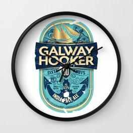 Galway Hooker India Pale Ale Irish Beer Wall Clock