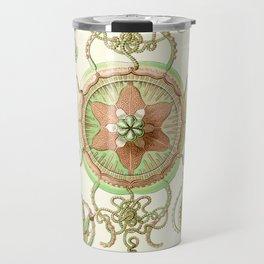 Haeckel jelly fish vintage Travel Mug