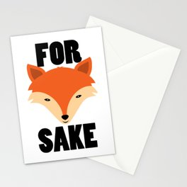 FOR FOX SAKE Stationery Cards