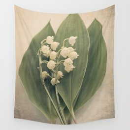 Scents of Spring - Lily of the Valley i Wall Tapestry