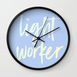 Lightworker Wall Clock