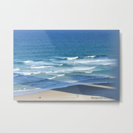 Surf at Surfers Paradise Metal Print