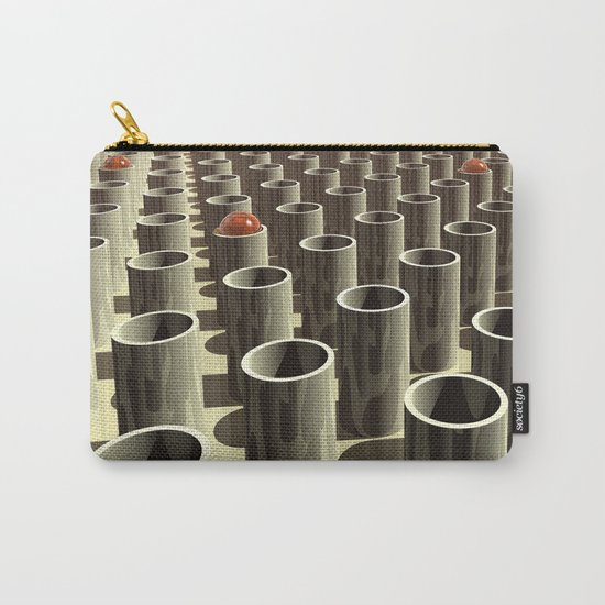 Stockyard of Cylinders Carry-All Pouch