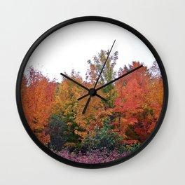 Autumn's Beauty Wall Clock