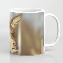 Wild Red Deer Coffee Mug