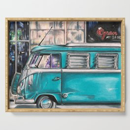 Hippie Van Serving Tray