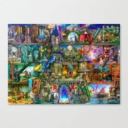 Once Upon a Fairytale Canvas Print