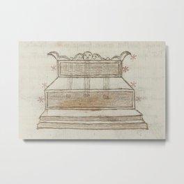Basinio de Parma - Ara, the Altar (1540s) Metal Print