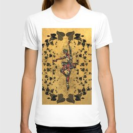 Colorful ballerina T-shirt