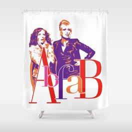 AbFab Shower Curtain