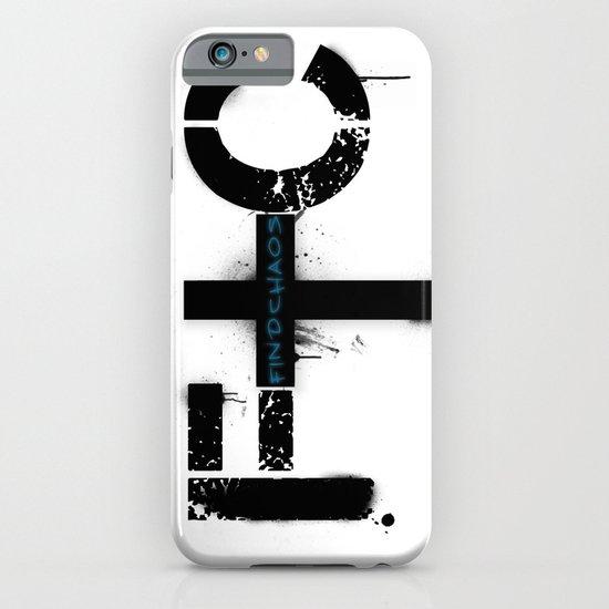 FindChaos - Logo iPhone & iPod Case