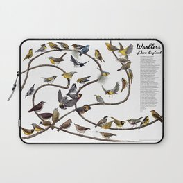 Warblers of New England Laptop Sleeve