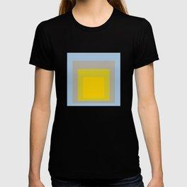 Block Colors - Yellow Green Grey Blue T-shirt