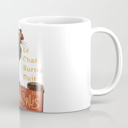 Le Chat  Burns Nuit With Haggis and Dram Coffee Mug