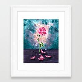 The Magical Rose Framed Art Print