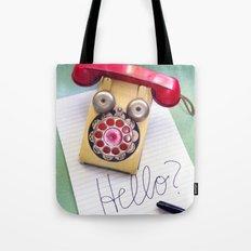 Hello? Tote Bag