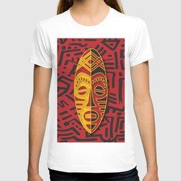 African Tribal Pattern No. 64 T-shirt