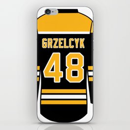 Matt Grzelcyk Jersey iPhone Skin