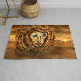 The King of Africa Rug
