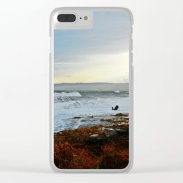 Sainte-Anne-Des-Monts and the Surf Clear iPhone Case
