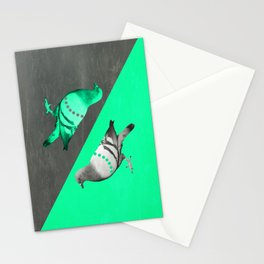 Pigeon's reflexion Stationery Cards