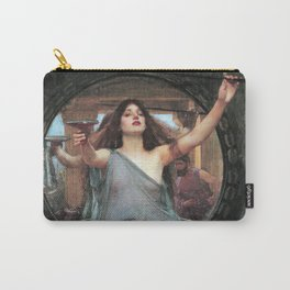 John William Waterhouse - Circe Offering the Cup to Ulysses Carry-All Pouch